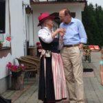 EU Abgeordneter Dr. Othmar Karas im Gespräch mit der Organisatorin Dr. Erika Sieder