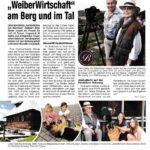 """""""Die Botin"""" berichtet: """"Weiberwirtschaft"""" am Berg und im Tal"""